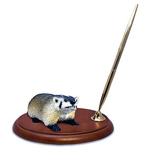 Badger Pen Holder