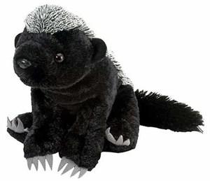 "Honey Badger Plush Stuffed Animal 12"""