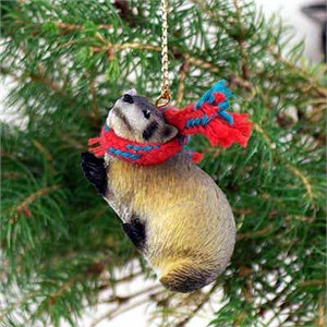 Badger Tiny One Christmas Ornament