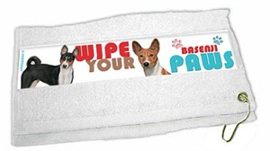Basenji Paw Wipe Towel