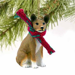 Basenji Tiny One Christmas Ornament