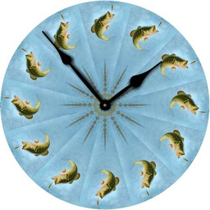Bass Wall Clock