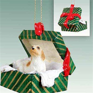 Basset Griffon Vendeen Gift Box Christmas Ornament