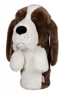Basset Hound Golf Headcover