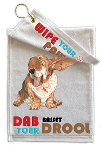 Basset Hound Paw Wipe Towel