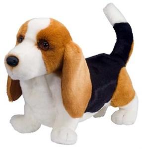 "Harold the Basset Hound Plush Stuffed Animal 16"""