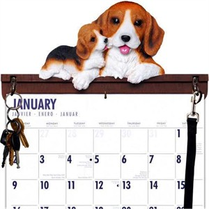 Beagle Calendar Caddy