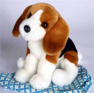 Beagle Plush Stuffed Animal 12 Inch
