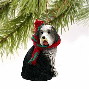 Bearded Collie Tiny One Christmas Ornament