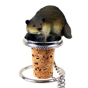 Beaver Bottle Stopper