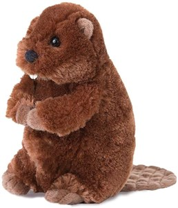 Beaver Plush Stuffed Animal 7 Inch
