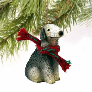 Bedlington Terrier Tiny One Christmas Ornament