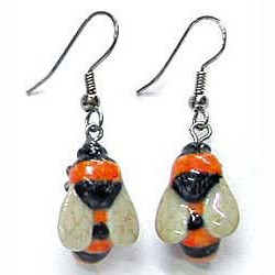 Bumble Bee Earrings True to Life
