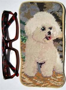 Bichon Frise Eyeglass Case