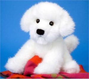 Bichon Frise Plush Stuffed Animal 12 Inch