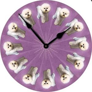 Bichon Frise Wall Clock