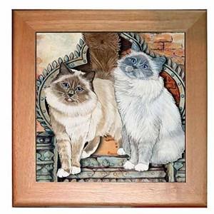 Birman Cat Trivet
