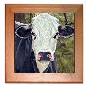 Black Cow Trivet
