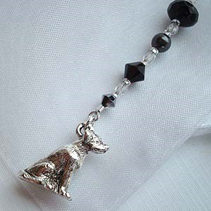 Black Lab Bookmark