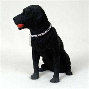 Black Lab Figurine MyDog