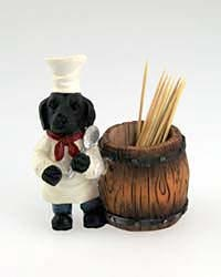 Black Lab Toothpick Holder
