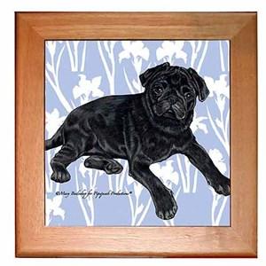 Pug Trivet - Black