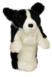 Border Collie Golf Headcover
