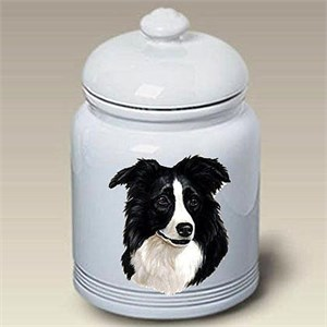 Border Collie Treat Jar