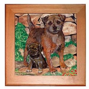 Border Terrier Trivet