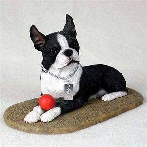 Boston Terrier Figurine MyDog