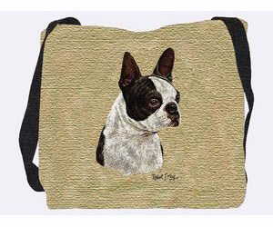 Boston Terrier Tote Bag