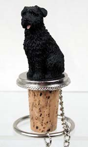 Bouvier des Flandres Bottle Stopper (Uncropped)
