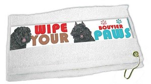 Bouvier Des Flandres Paw Wipe Towel