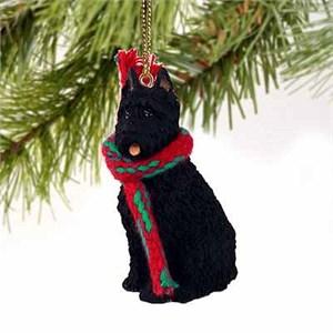 Bouvier Des Flandres Tiny One Christmas Ornament