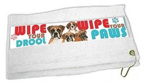 Boxer Paw Wipe Towel