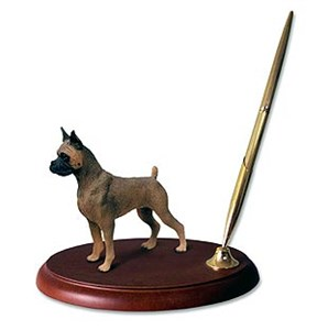 Boxer Pen Holder (Tawny)