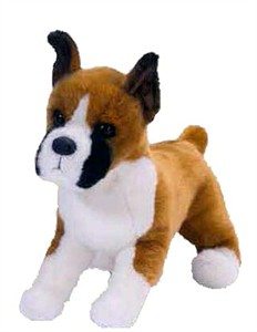 Bruschi the Boxer Plush Stuffed Animal 16""