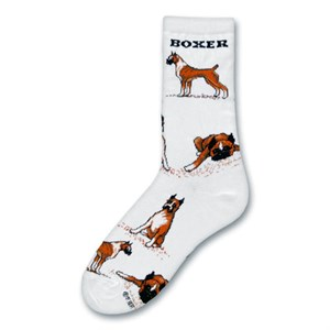 Boxer Poses Socks