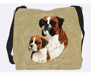 Boxer Tote Bag (Puppy)