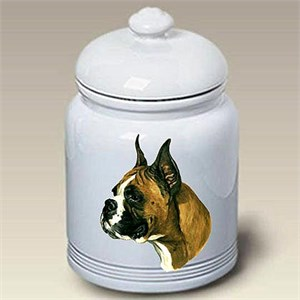 Boxer Treat Jar