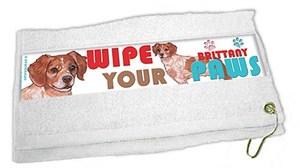 Brittany Paw Wipe Towel