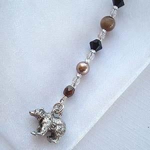 Brown Bear Bookmark