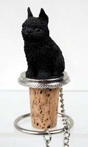 Brussels Griffon Bottle Stopper