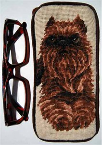 Brussels Griffon Eyeglass Case
