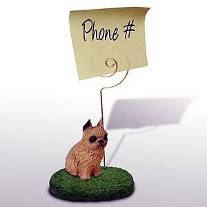 Brussels Griffon Note Holder (Red)