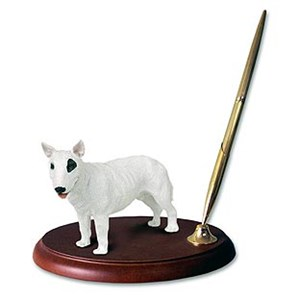 Bull Terrier Pen Holder