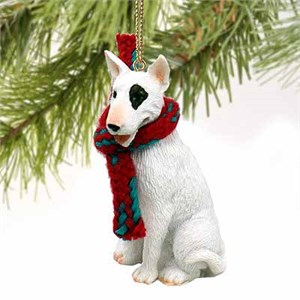 Bull Terrier Tiny One Christmas Ornament