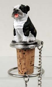 Bulldog Bottle Stopper (Brindle)