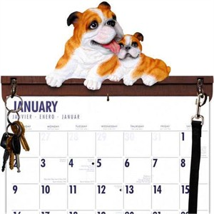 Bulldog Calendar Caddy