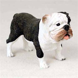 Bulldog Figurine Brindle